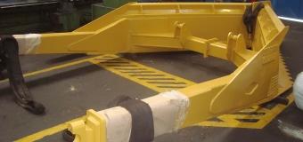 """Implemento Diânteiro Reparado - Adequação da Lâmina """"V"""" Shear para largura 3,20M"""